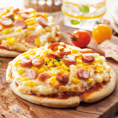 あつあつグラタンピザ