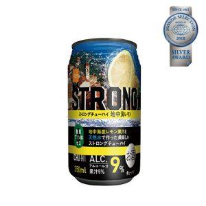 優秀品質銀賞「ストロングチューハイ 地中海レモン(本体価格78円)」 地中海産のレモンを使用。果樹比率5%、強炭酸で「爽快な喉ごし」、9%の高アルコールで「満足な飲みごたえ」を実現。樽熟成ウィスキーを使用しながらも甘みを抑えた後味スッキリなテイスト!