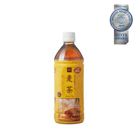 優秀品質銀賞「麦茶 (本体価格58円)」 厳選した国産六条大麦を使用。保存料・甘味料不使用で、自然な甘みと香ばしさ。