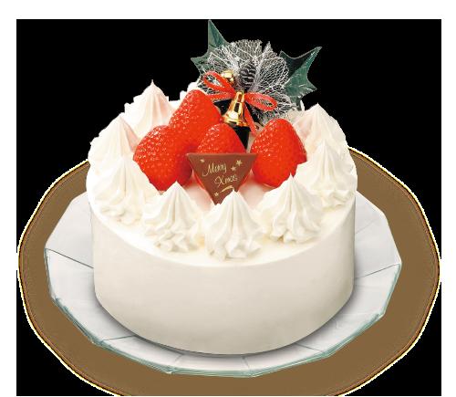 ベイシアオリジナル苺のケーキ 4号