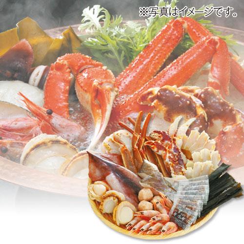 〈カネコメ田中水産〉かにちり海鮮鍋セット